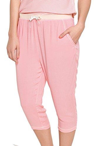 Damen Pyjamahose 3/4-Länge CHERRY ROSE 36