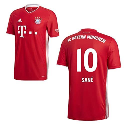adidas FCB FC Bayern München Trikot Home Heimtrikot 2020 2021 Herren Sané 10 Gr M