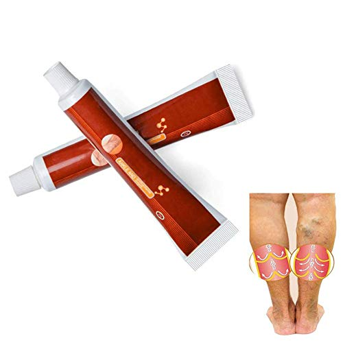 Varicose Veins Miracle Cream,Spider Veins Relief Cream Pure Natural Ingredients Care Dredge Blood Vessels 2 Pack