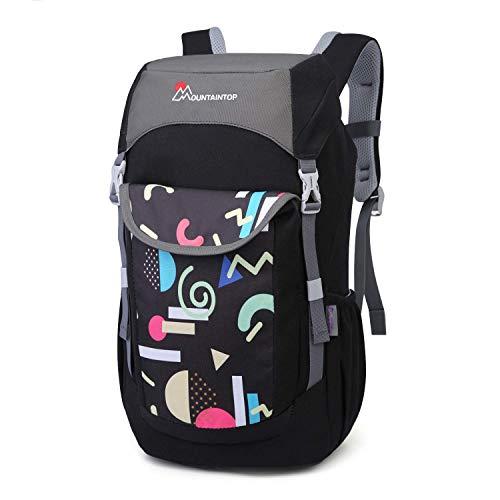 MOUNTAINTOP Kinder Wanderrucksack Freizeitrucksack Schultasche Kleiner Kid Backpack mit Brustgurt, 23.5 x 15 x 45cm