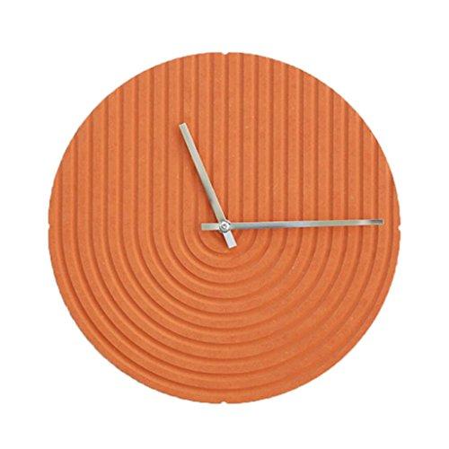 LINGZHIGAN Creative Decorative Wall Clock Cartoon Colorful Clock Retro Chambre Salle d'étude Salon Kid 30cm ( Couleur : E )