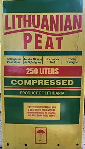 Geosism & Nature Torba (bionda) acida di sfagno (Lithuanian Peat) (c.ca 38 kg - 250 lt)