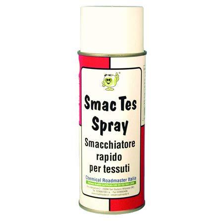 Chemical Roadmaster Italia SmacTes Spray. Smacchiatore rapido, per Tessuti. per Grasso, Inchiostro, Vernice