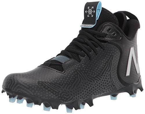 New Balance Men's Freeze V3 Agility Lacrosse Shoe, Black/White, 8