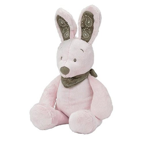 NICOTOY Peluche Debout My Friend Bunny Rose