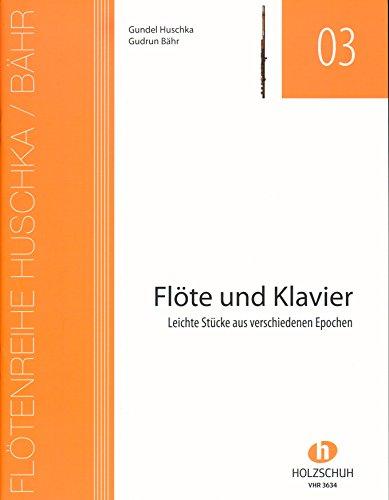 Flöte und Klavier - das Spielbuch für mehr Unterhaltung [Noten/ sheet music] mit Notenklammer