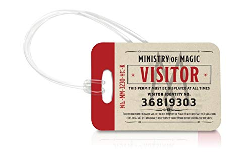 Gepäckanhänger, Motiv: Fantastic Beasts: The Crimes of Grindelwald - Ministerium of Magic Visitor