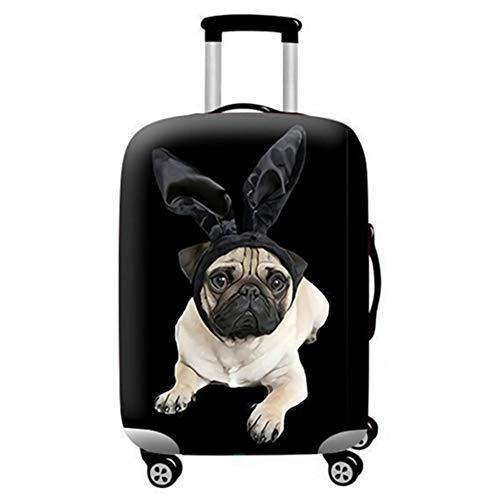 Kofferschutzhülle 3D Print Trolley Case Kofferhülle Elastische Wasserfeste für 18-32 Zoll S Schmetterling Nicht Hund