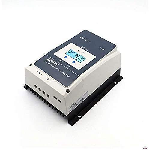 EPEVER® MPPT Tracer10420AN 100A PV 200V Controlador de carga solar 12/24/36/48V CC automático oma de tierra negativa