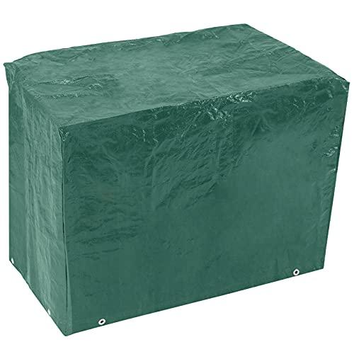 PrimeMatik - Funda Protectora Impermeable para Barbacoa 120x100x60cm