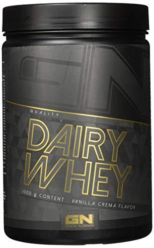 GN Laboratories 100% Dairy Whey Proteinshake Protein Eiweiß Bodybuilding Eiweißpulver 1000g (Vanilla Crema - Vanille Creme)