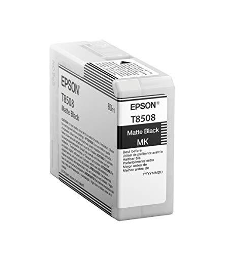 Epson T850800 T850 UltraChrome HD Matte Black Ink
