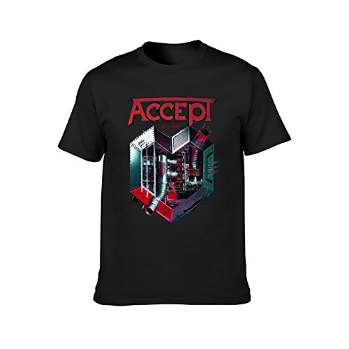 Accept Metal Heart UDO Heavy Metal Band Running Wild Rage T Shirt...