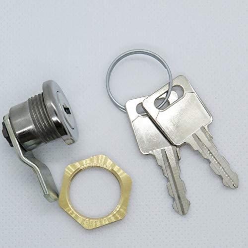 Briefkastenschloss passend für JU Briefkästen mit 2 Schlüsseln S-005