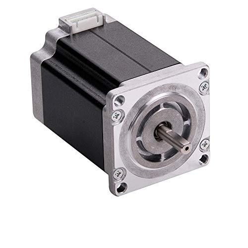 MOONS' High Torque NEMA 23 Stepper Motor 1.5A 3.4Nm(481.51oz-in) 2Phase 1.8degree Hybrid Bipolar DC Step Motor 3D Printer 77mm(3.03in.)(Model PL23HSAP4150)