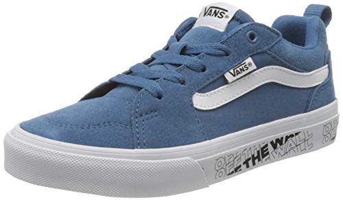 Vans Unisex-Kinder FILMORE Suede/Canvas Sneaker, Blau ((OTW) Navy/White XYV), 29 EU