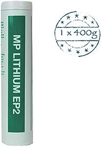 General Multipurpose Lithium EP2 Brown Grease 400g Cartridge NLGI