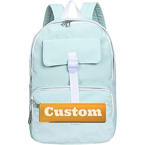 Nombre Personalizado Extra Pequeño Senderismo Ligero Mini Bolsa de Mochila para Mujeres Running Kid Mini para (Color : Qingse, Size : One Size)