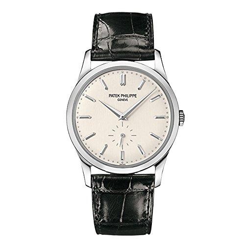 Patek Philippe Calatrava Men's 18K White Gold Watch - 5196G-001