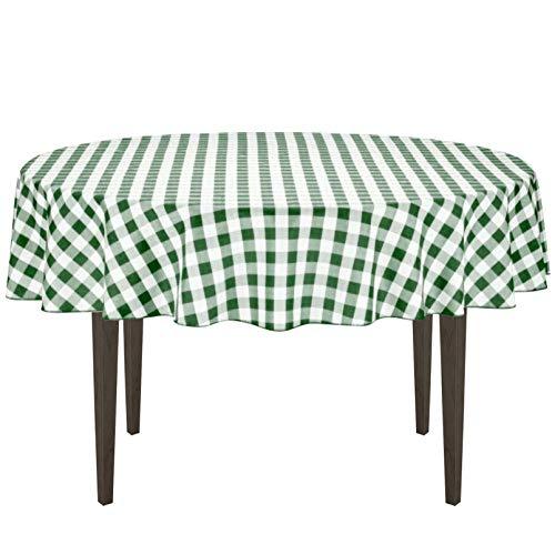 mantel verde fabricante LinenTablecloth