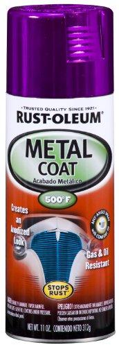 Rust-Oleum Automotive 251585 11-Ounce Metal Coat Spray, Purple