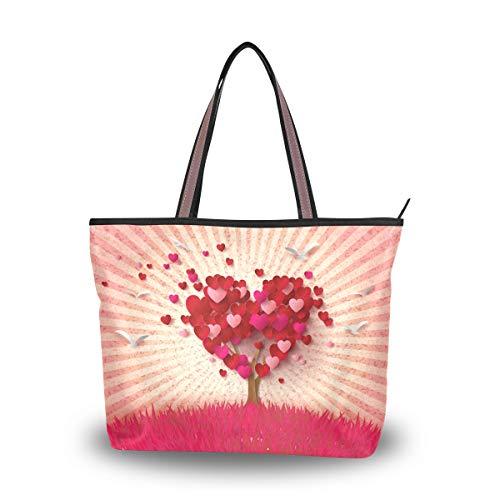 Ahomy - Bolsa de hombro para el día de San Valentín, diseño...