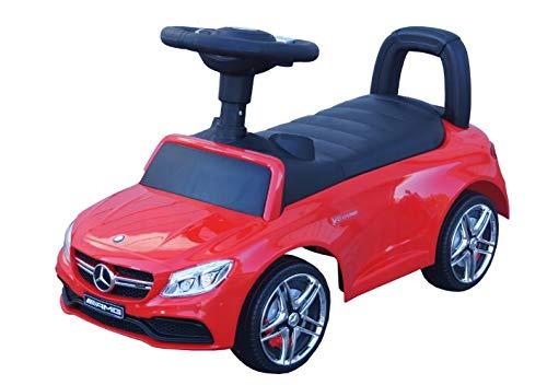 Mercedes Rutschauto Benz AMG C63 Coupe Lizenz Rutscher Kinderauto Rutschfahrzeug Rutschwagen (rot)