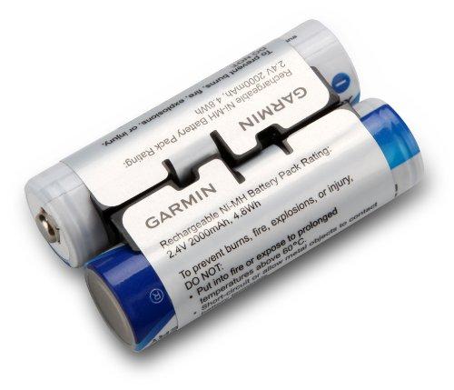 Garmin 010-11874-00 - Batteria ricaricabile NiMH per Oregon serie 600, colore: Blu/Argento