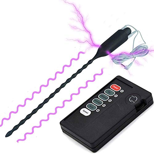 Elektro Dilator E-Stim Harnröhren-Plug Silikon Harnröhren-Dehner Erotik Reizstrom Sexspielzeuge Für Männer Stromschlag Harnröhren Elektrostimulation Penis Plug