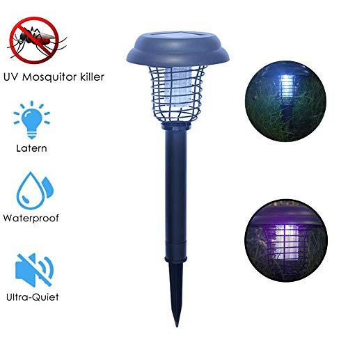 CCCYT Moskitoschutz Lampe, Wasserdicht Moskito Killer Licht Insektenkiller Moskito Killer Mit UV-Licht, 2-In-1Insektenvernichter Elektrisch Fliegenfalle