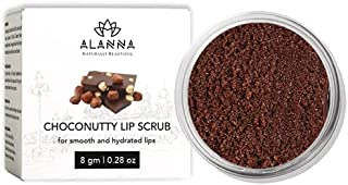 ALANNA Chocolate Lip Scrub Lightening & Brightening Dark Lips for Women & Men, Dark Lips to Lighten, Dry & Chapped Lip Car...