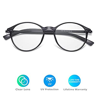 Amazqi Blue Light Blocking Glasses, Classic Com...
