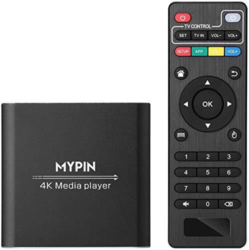 Lettore multimediale digitale 4K @ 30hz Uscita HDMI / AV PPT...