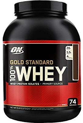 OPTIMUM NUTRITION 100% WHEY GOLD STANDARD (2,27 KGS) - DOBLE...