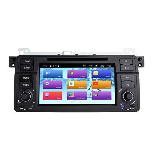 ZLTOOPAI Android 10 Autoradio per BMW E46 Rover 75 MG ZT Car Audio Unità principale Stereo GPS Navigazione GPS per auto Lettore DVD con DSP IPS CANBUS Controllo del volante