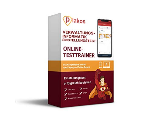 Einstellungstest Verwaltungsinformatik Online-Testtrainer: Interaktive und authentische Aufgaben aus den Bereichen Wissen, Konzentration, Sprache, EDV und Logik | Vorbereitung auf den Eignungstest
