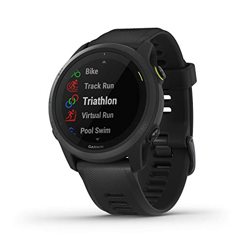 Garmin Forerunner 745, GPS Running Watch, Detailed Training Stats and On-Device Workouts,...
