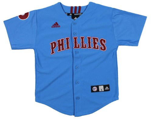 adidas MLB Philadelphia Phillies Cooperstown Collection Youth Jersey (Large (14-16))