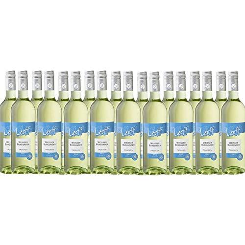 Weißwein Pfalz Weißer Burgunder Leoff trocken (18 x 0,75L)