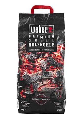 Weber 17828 Premium Grill Holzkohle 3 kg