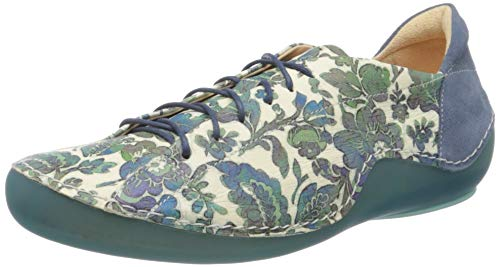 Think! Damen 686060_KAPSL Sneaker, Mehrfarbig (Salvia/Kombi 61), 38.5 EU