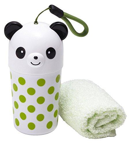トルネおしぼり水玉パンダ