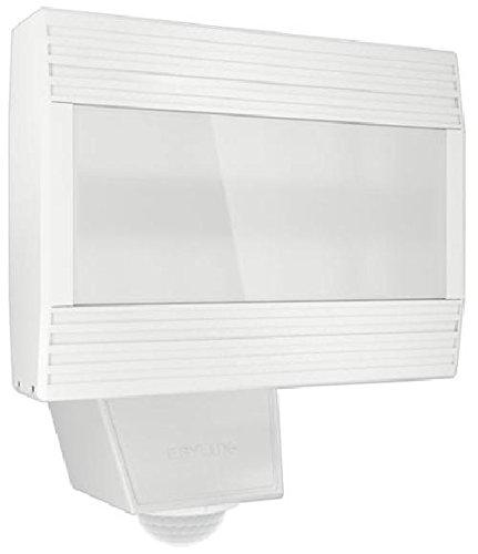 ESYLUX 4370626 LED-lamp 26 W met bewegingsmelder, 140 graden, 5000 K, gegoten aluminium en kunststof, AFR 350LED 5 K, wit