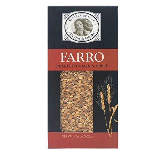 Cucina & Amore Pearled Italian Farro (17.6 oz, Pack of 8)($0.21 per ounce)