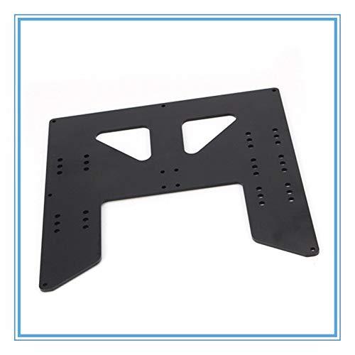 L-Yune,bolt 1pc 3D-Drucker Upgrade-Y-Wagen anodisierte Aluminiumplatte for A8 A6 Hotbed Unterstützung for Anet I3 3D-Drucker