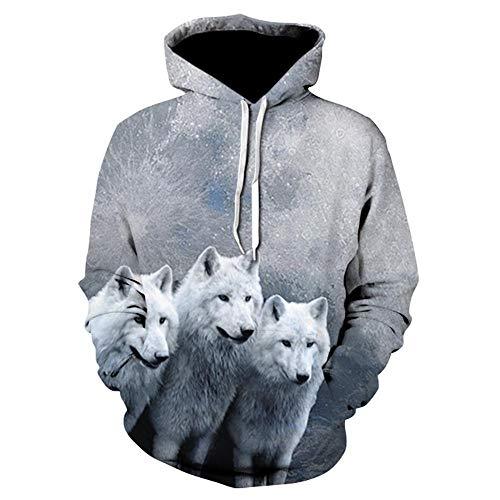 gghhd 2020 New Galaxy Wolf 3D Hoodies Sweatshirts Men Hooded Pullover Cool Skateboard Tracksuits Male Streetwear Pocket Jackets-We-343_Size_M