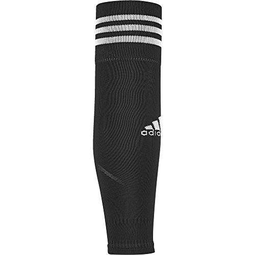 adidas Team Sleeve 18 Socks, Black/White, 4042