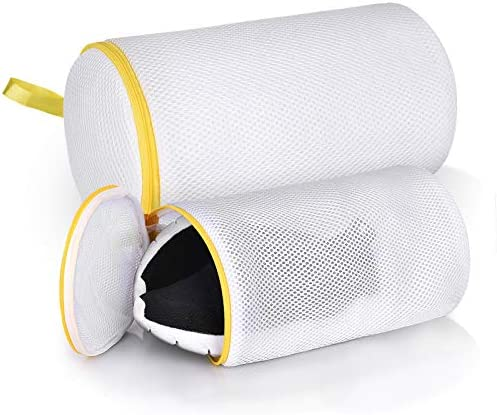 Shoe Wash Bag Laundry Bag for Sneaker 3 Layers Thickened Shoe Mesh Laundry Bag With Zipper Reusable product image