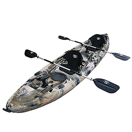 BKC UHTK181 Sit on Top Tandem Fishing Kayak Review