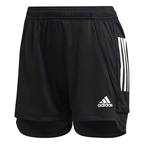 adidas Damen Condivo 20 Training Shorts Trainingsshort, Black/White, 2XS
